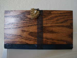 Wooden Clutch Front